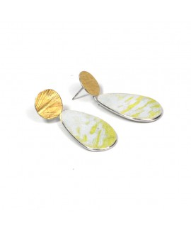 Petri pear drop earrings